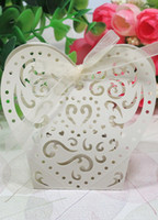 Wholesale Laser Cut Heart Pearl Paper Set of Favor Holders asymmetrical u6 Rda