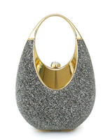 Wholesale Grey Grace Silk Women s Evening Bag u7 Mo