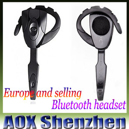 Wholesale GioTeck EX01S Hot elling black wireless bluetooth game headset mobile phone bluetooth headphone player for PS3 with microphone