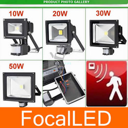 50w LED Floodlight Flood Lamp PIR Motion Sensor Outdoor Motion Sensor Light 110v-220v