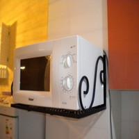 Wholesale Kitchen accessories iron microwave shelf oven rack storage rack shelf