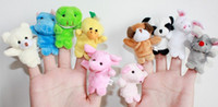 Finger Puppets Baby Plush Toy Finger Puppets Talking Props B...