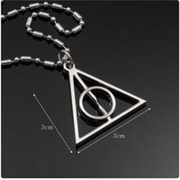 Wholesale HARRY POTTER DEATHLY HALLOWS Pendant Necklace for Cosplay Comic Con
