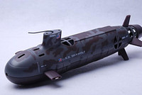Wholesale SSN US SEAWOLF Remote Control RC nuclear Submarine WATER NAVY SUBS Boat CH