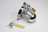 Male Chastiy Belt Male Sex product chastity belt short cage stainless steel small cage Male Chastity Urethral Catheter Sex toy bondage SM fetish
