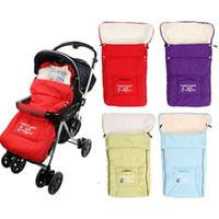 Wholesale Baby Sleeping Bags Winter Baby Sleepsacks for Stroller Cart Basket Infant Fleebag