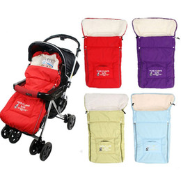 Wholesale Baby Sleeping Bags Winter Baby Sleepsacks for Stroller Cart Basket Infant Fleebag