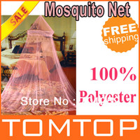 mosquito net - New Arrival Elegant Netting Bed Canopy Mosquito Net Pink Freeshipping Dropshipping H8780P