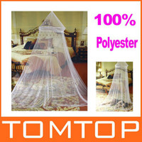 Wholesale Elegant Netting Bed Canopy Mosquito Net White Freeshipping Dropshipping H8780
