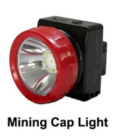 mining cap lamp - Cordless LED Mining Cap Light Head Lamp LD with headband wall charger and car charger