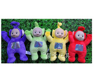 Anime & Comics best friend games - Teletubbies Plush Doll Stuffed Toys Singing Toy Blue Green Red Yellow Kids best Friend Toys