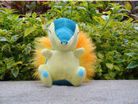 Wholesale Wohlesale plush Cyndaquil quot soft plush doll new anime Plush Figure Toys