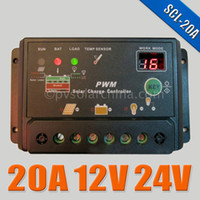 Wholesale 20A V V Auto intelligence Solar Cell panels Battery Charge Controller Regulators