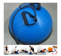 Wholesale fitness equipment home banlance trainer bosu ball for sale or entrenamiento Funcional