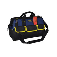 Wholesale DHL Multi function waterproof electrician tool pockets hardware packing bag cm D Oxford Canvas tool bags