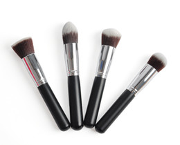 Wholesale black Synthetic Kabuki Brush single makeup Cosmetic brush H1132A H1133A H1134A H1135A