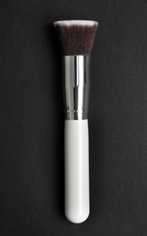 Wholesale 2014 Hot Sale Beautiful Professional White Flat Synthetic Kabuki Brush Single Makeup Brushes Cosmetics Facial Tools Top Quality H1129B