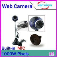 Wholesale CHpost USB Mega HD PC Camera Webcam Camera Web Cam with Microphone RW PC