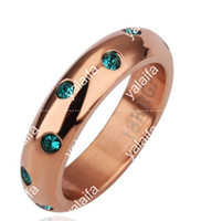 austrian cakes - 2013new Sell like hot cakes K gold ring Austrian crystal emerald diamond ring R174