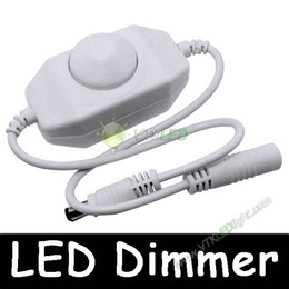 24W DC12V LED Dimmer Switch Bright Adjustable Controller with Rotary Knob White Free Shipping