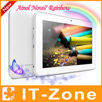 Wholesale 7 inch Ainol Novo Rainbow Android Tablet PC Allwinner A13 GHz GB Capacitive Screen