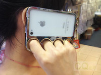 brass knuckles rings - Lord Of The Rings brass knuckles hard bumper side rim cover case for iPhone