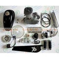 Wholesale 80cc Motor Bike Engine Kit Gas Motorized Bicycle Stroke T80 MPH Silver