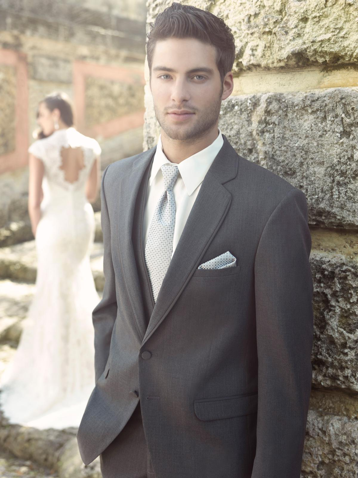 New Popular Groom Tuxedos Wedding Suits Prom Clothing Jacket Pants ...
