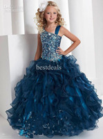 New Arrivals Princess Ball Gown Tiffany Beading Long Length ...