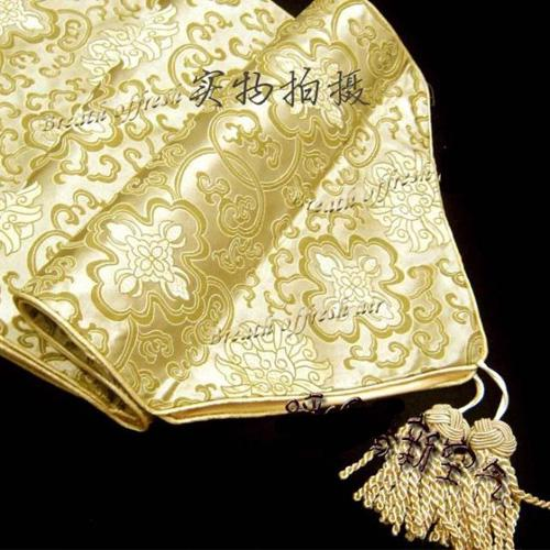 Wholesale party table buy yellow damask table runners for 120 inches table runner