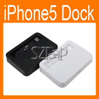 Wholesale Dock Charger Desktop Station Stand Mount Holder Docking Station Charger best for iPhone5