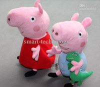 hard wash peppa pig adn george pig plush 2 large size cute k...