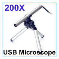 Wholesale Mini Portable USB Microscope Endoscope Otoscope Video Camera LED x