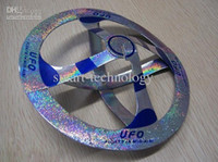 Wholesale Mystery UFO Floating Flying Saucer Toy Nice Magic Trick Magic suspended UFO air floating magic UFO Toy