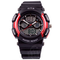 Cheap Complete Calendar electronic watch Best Analog-Digital Rubber audi ots
