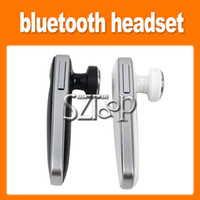 For Apple iPhone Bluetooth Headset  Wireless Bluetooth Headsets in ear headphone ultralight design enhanced audio headphones paired two phones for iphone ipod ipad via dhl