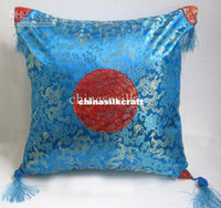 wholesale cushion covers - Damask Pillow Cushion Covers Best Personalized High quality Tassel Sun Fancy Patterns pack Free