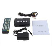Wholesale New Media Player RMVB RM H MKV AVI VOB Hdd player GX390