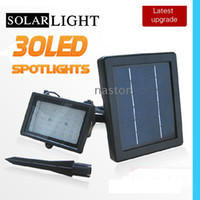 Wholesale Solar super bright LEDS Garden sport lights LANDSCAPE LAMP WHITE Hi quality New model