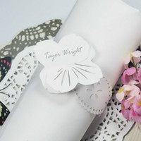 Wholesale Foral Design Pearl Paper Napkin Ring