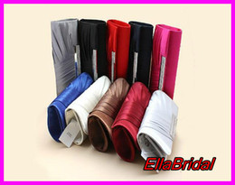 Wholesale High Quality Satin Bridal Hand Bags for Wedding Evening Party Event