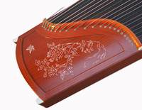 Wholesale Red sandalwood lettering playing professionally guzheng gift a full set of accessories styles