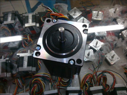 New Leisai CNC stepper motor model 57HS09 size NEMA 23   2-phase hybrid step motor 0.9NM out  Terminated with 8 motor leads.