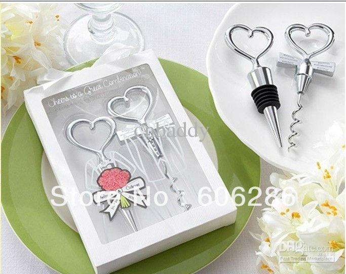 Wedding Gift Delivery Usa : Usa Couple Bride And Groom Wine Bottle Opener And Stopper Sets Wedding ...