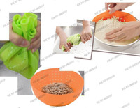 Wholesale Silicon Basket - LLFA870 Multifunctional Silicon Basket Colander, kitchen filter