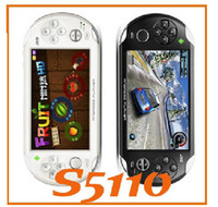 Wholesale 5inch JXD S5110 Game Player Android A9 GHz OTG HDMI Capacity Touchscreen Game Console TV JX