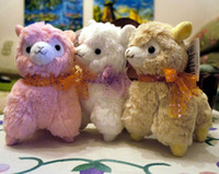 Wholesale Japanese Arpakasso amuse Genuine Sheep plush alpaca with tags colors Toy cm high Doll