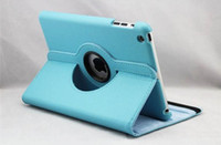 Wholesale New Degree Rotating Litchi Smart Magnetic Leather Case Cover Stand for ipad