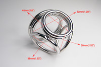 Male Chastiy Belt Male Adult product four Cock Penis Ring Cage NEW 18 8 Stainless Steel Chastity bondage Device Phallic Ring Sex Toy l