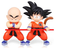 Halloween wood dragon - Dragon Ball Z Goku Kuririn PVC Action Figure Doll Hand DO Toys Goku Model Toys cm